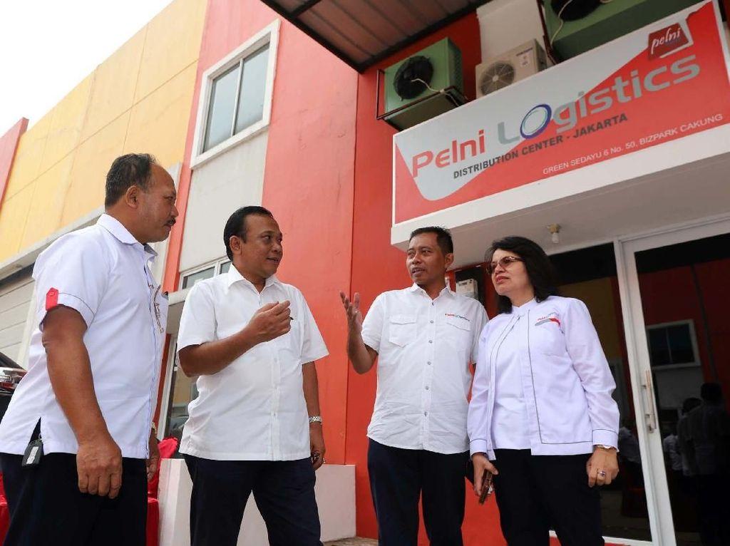 Kembangkan Sayap, Pelni Logistics Buka Gudang Baru