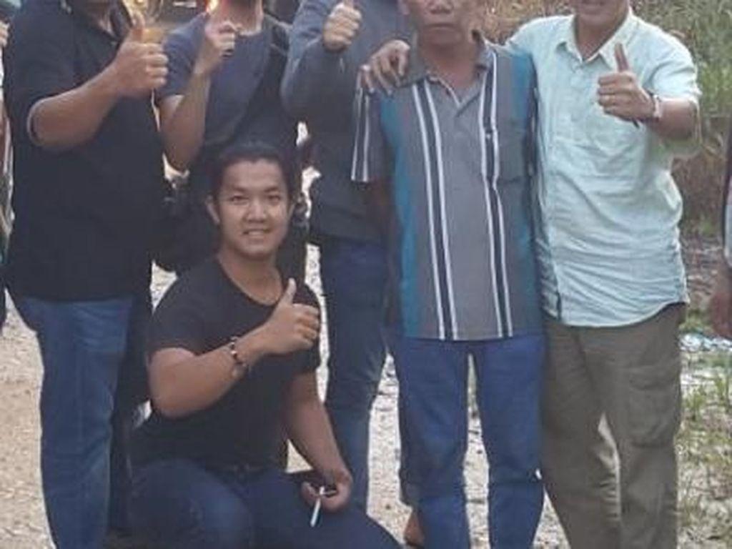 Foto: Momen Big Bos Miras Oplosan Maut Menyerah di Sumsel