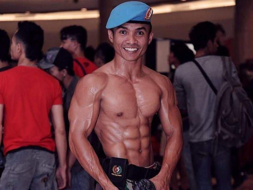 Keras! Begini Olahraganya Vicky Arifin Mantan Paspampres yang Berotot