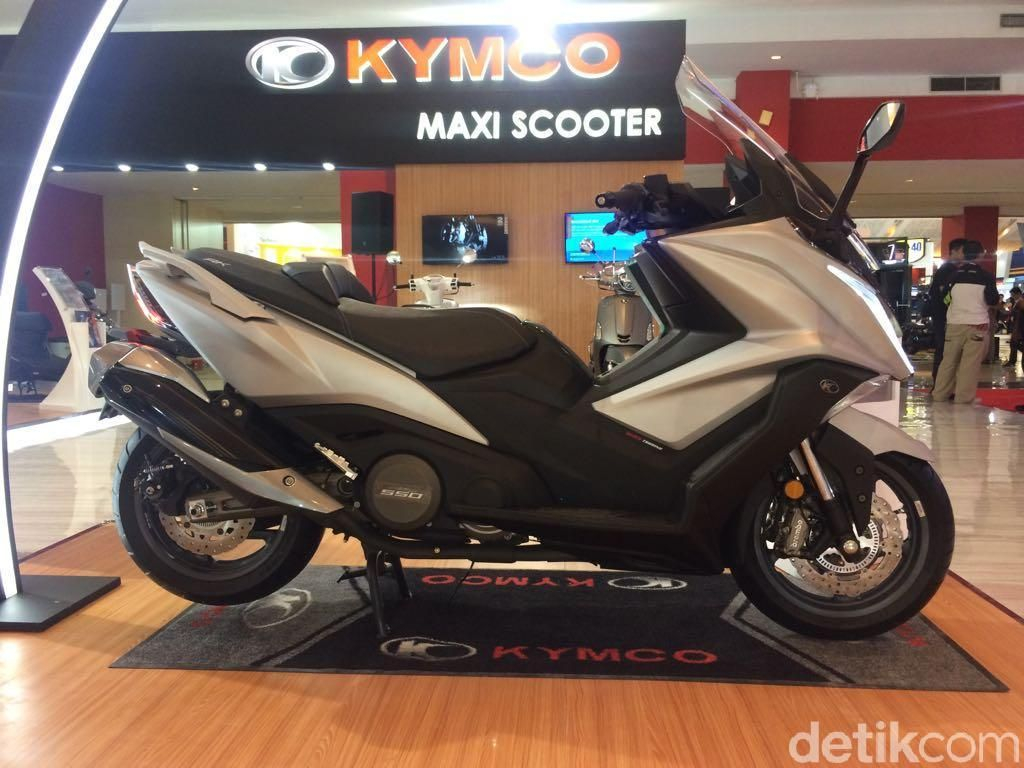 Kymco Ingin Produksi Motor di Indonesia