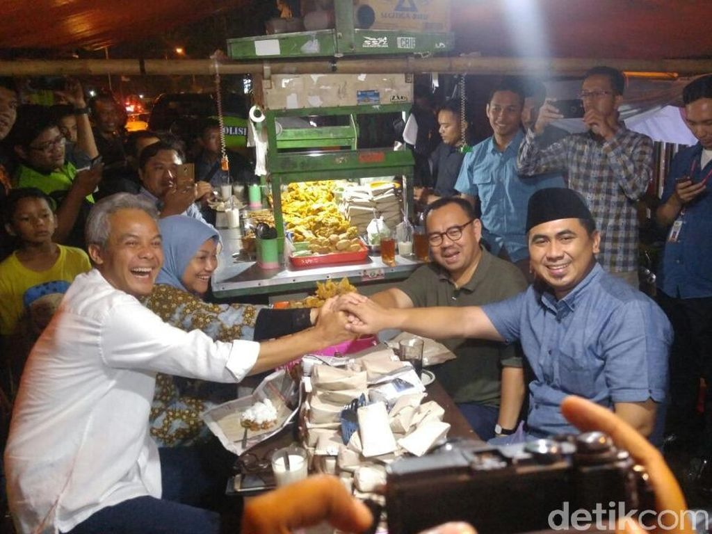 Survei Top of Mind RTK soal Pilgub Jateng: Ganjar-Yasin Unggul