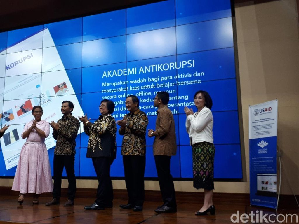 Bikin Akademi Antikorupsi, ICW Gandeng Pengajar PhD