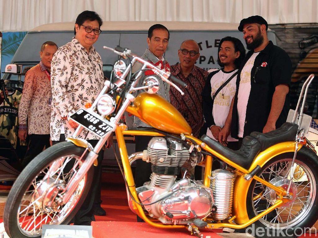 Terungkap! Misteri Hilangnya Motor Chopper Jokowi dari LHKPN