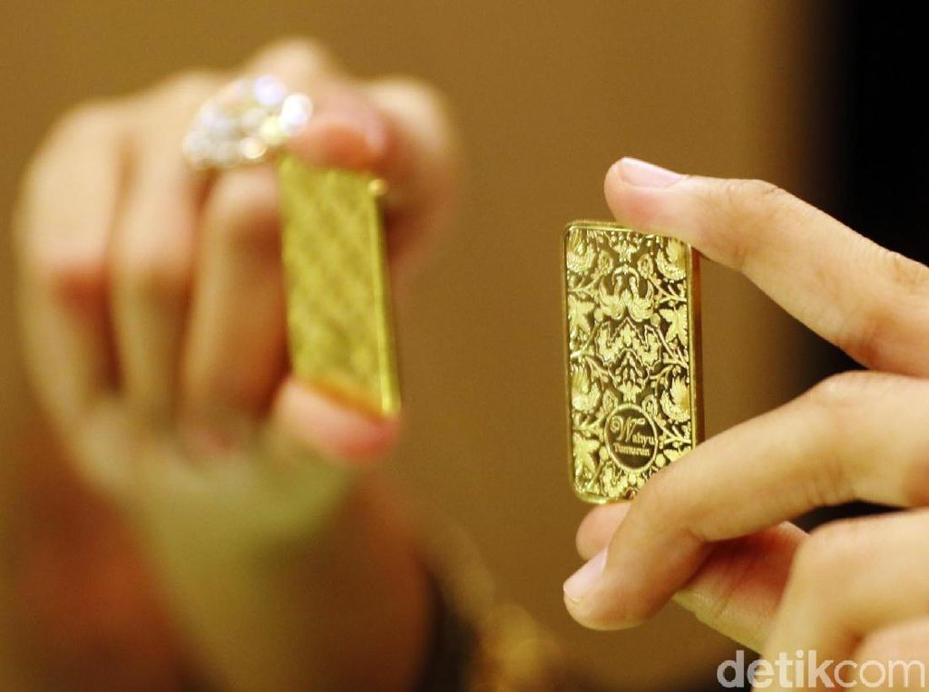 Turun Rp 4.000, Emas Antam Hari Ini Dijual Rp 752.000/Gram
