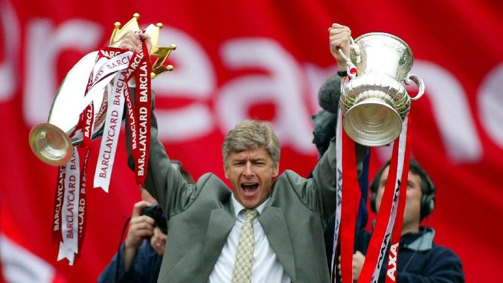 Foto: Momen-momen Terbaik Arsene Wenger di Arsenal