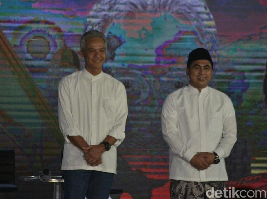 Quick Count Final Pilgub Jateng SMRC: Ganjar-Yasin Menang