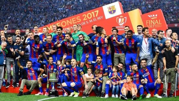 Kans Barca Raih Titel Sekaligus Lanjutkan Dominasi di Copa del Rey