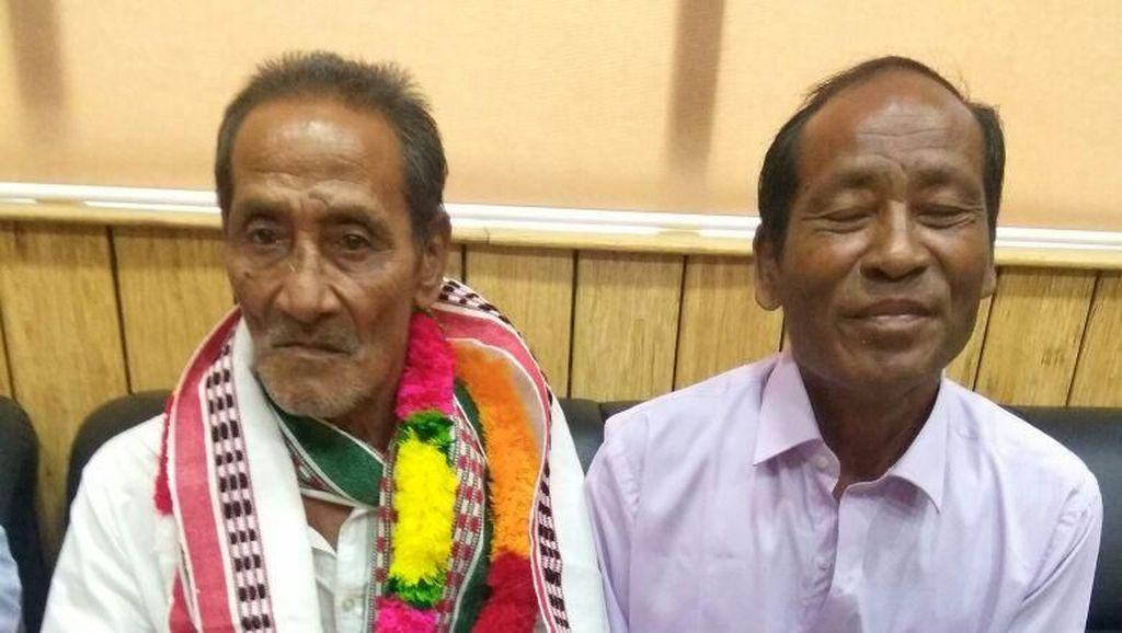 Haru! Pria Ini Akhirnya Bertemu Keluarga Setelah 40 Tahun Hilang