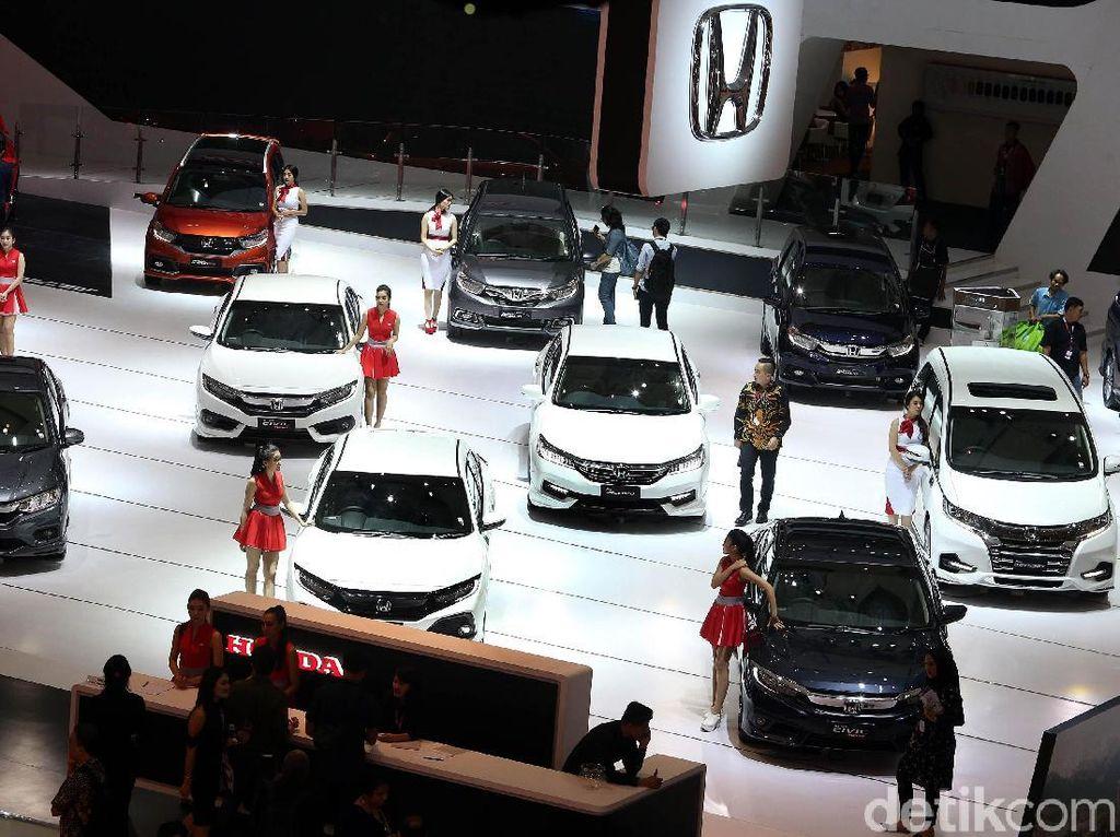 Bulan April, Penjualan Mobil Honda Naik 58%