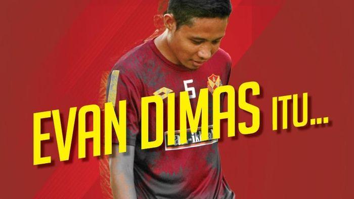 Pemain Selangor FA, Evan Dimas Darmono. (Foto: dok.Istimewa)