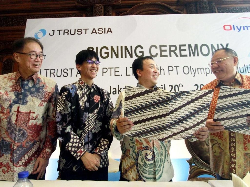 J Trust Akuisisi Olympindo Multifinance
