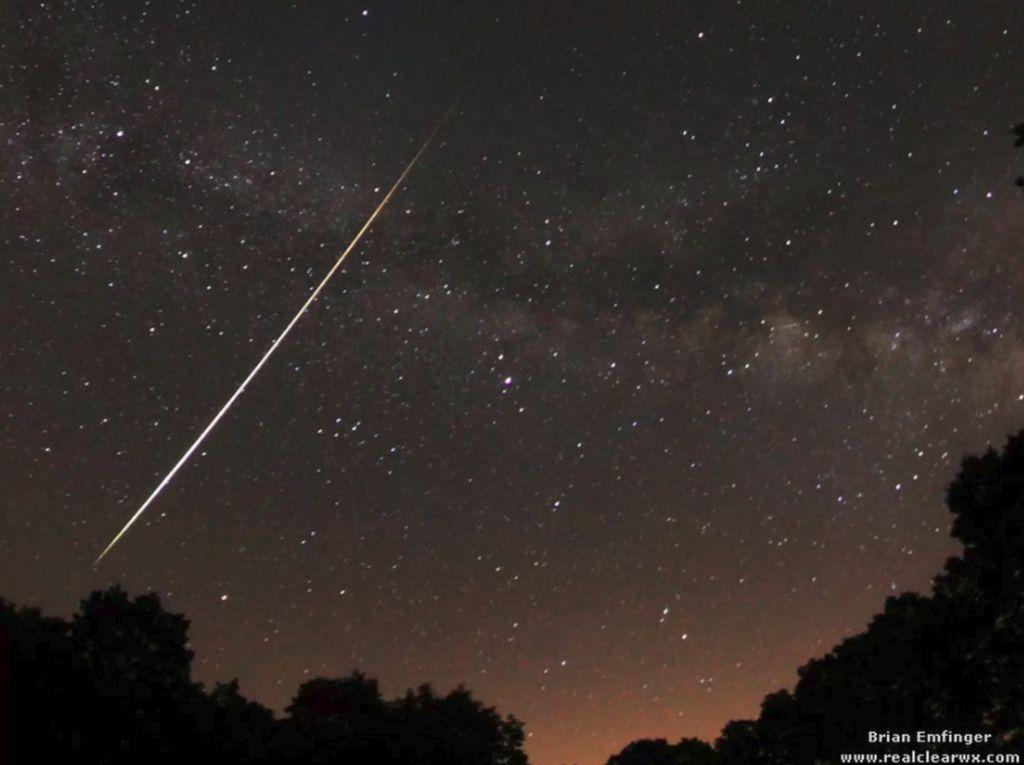 Jangan Lupa, Malam Ini Ada Hujan Meteor Eta Aquarids