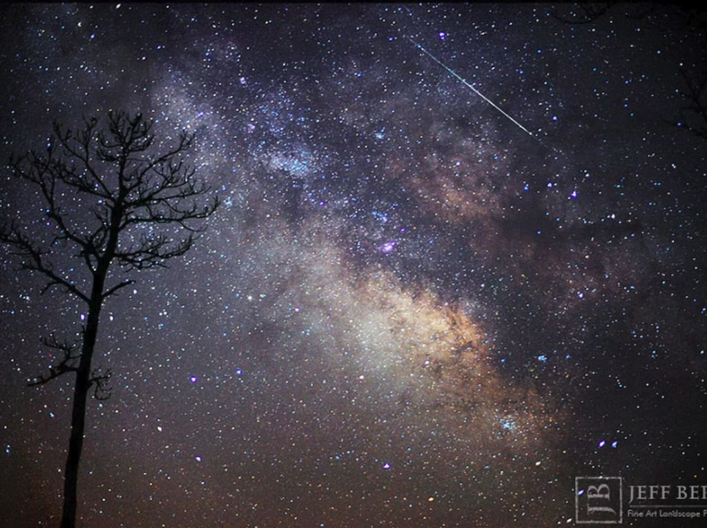 Wah! Hujan Meteor Iringi Gerhana Bulan Total