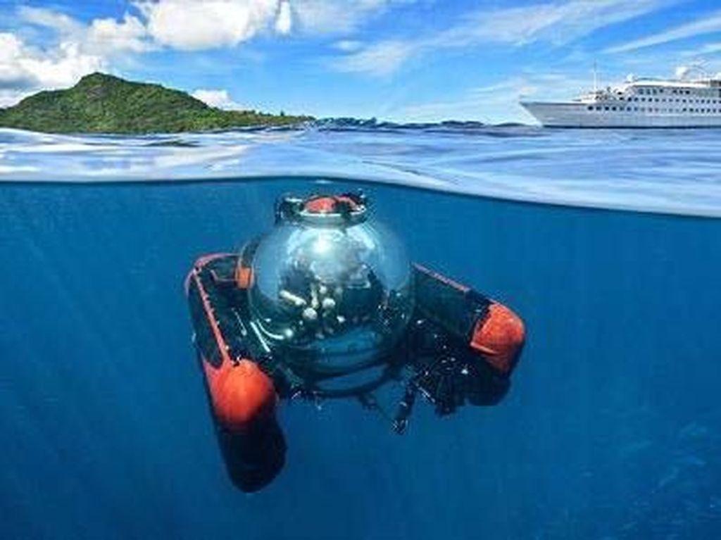Mainan Baru Orang Kaya, Naik Kapal Selam Mini