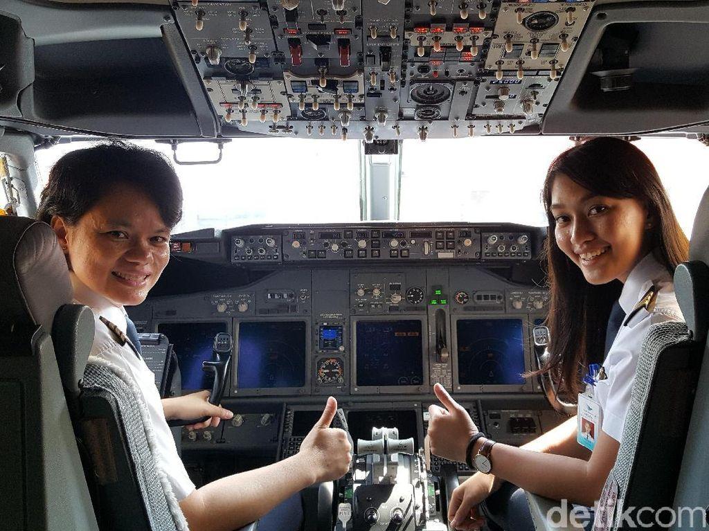 Arti Liburan Bagi Kapten Ida, Sang Pilot Wanita