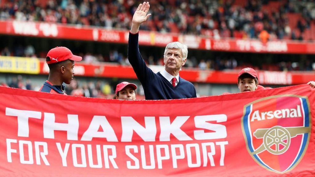 Wenger Tak Tergantikan di Arsenal