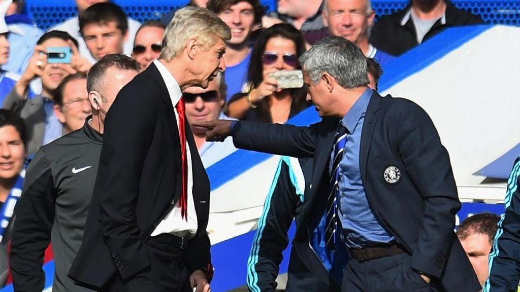 Pernah Berselisih, Ini Kata Mourinho Usai Pengumuman Mundur Wenger
