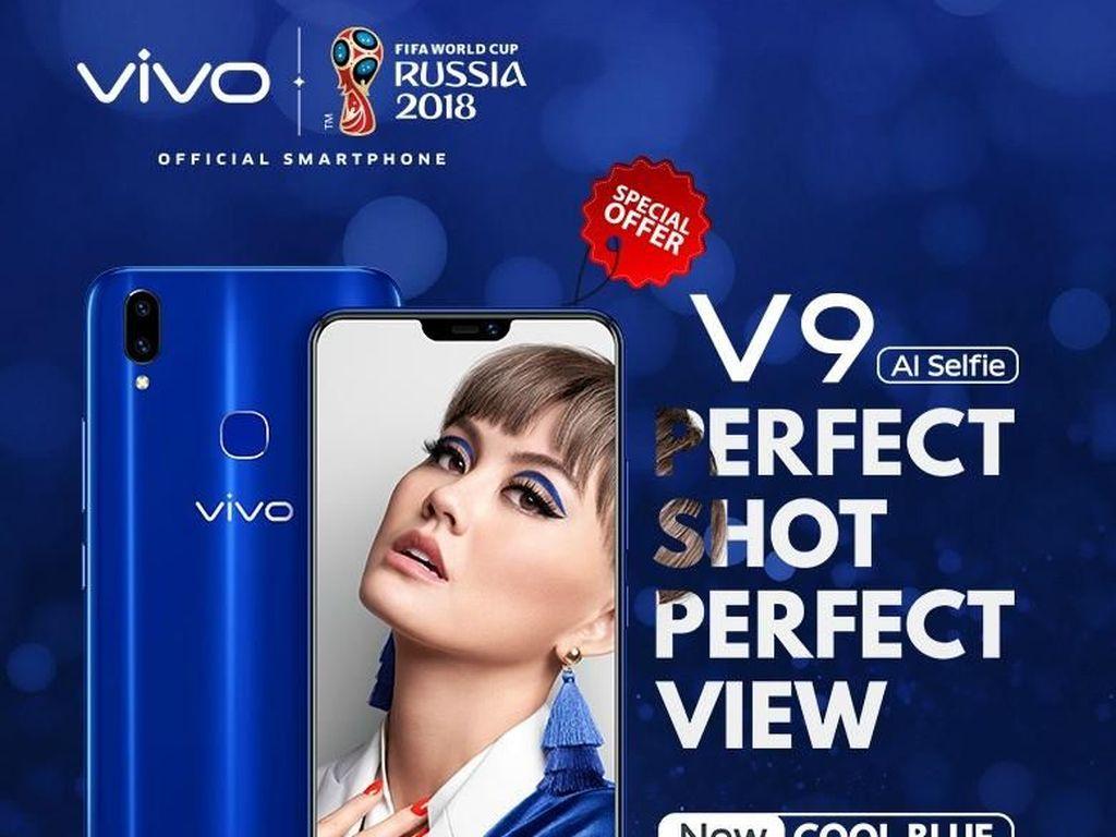 Vivo V9 Cool Blue Limited Edition, Lebih dari Sekadar Biru