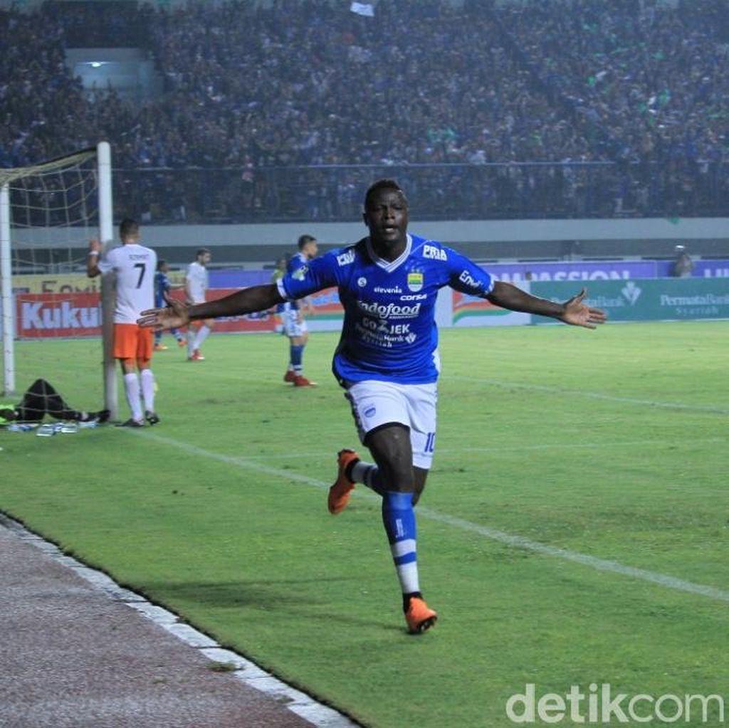 NDouassel Dua Gol, Persib Taklukkan Borneo FC 3-1