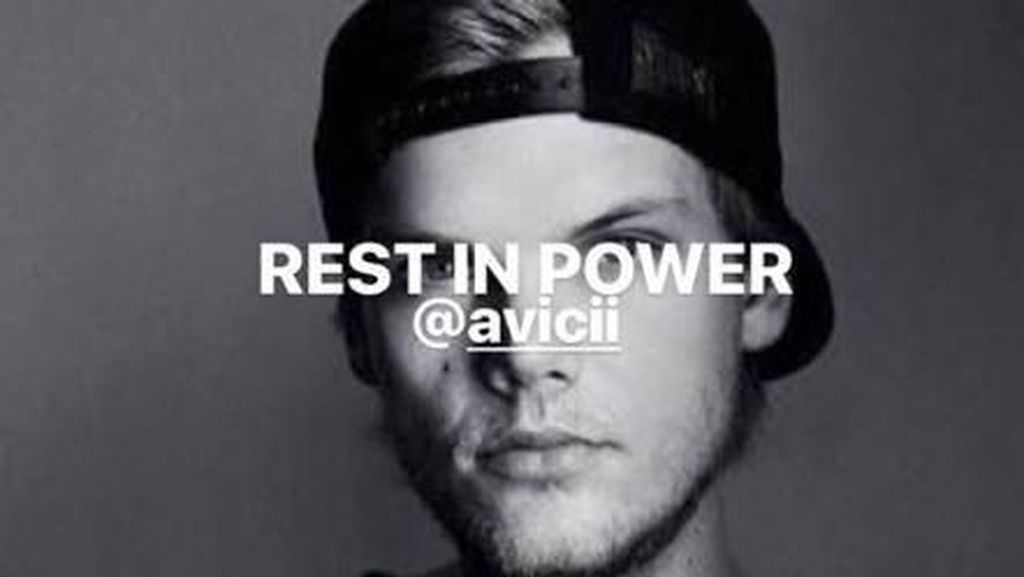 Selamat Jalan DJ Avicii...