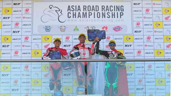Pebalap Indonesia Sapu Bersih Podium Race 1 Kelas AP250 di Australia