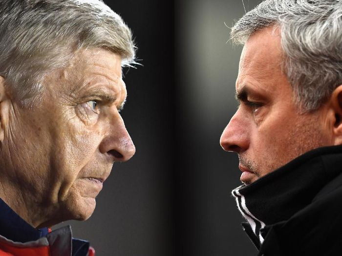Arsene Wenger dan Jose Mourinho akan menjadi analis beIN di final Liga Champions (Laurence Griffiths/Getty Images)