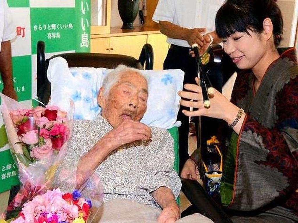 Manusia Tertua di Dunia Saat Ini, Nabi Tajima Meninggal
