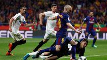 Statistik Barcelona saat Menang Mudah atas Sevilla