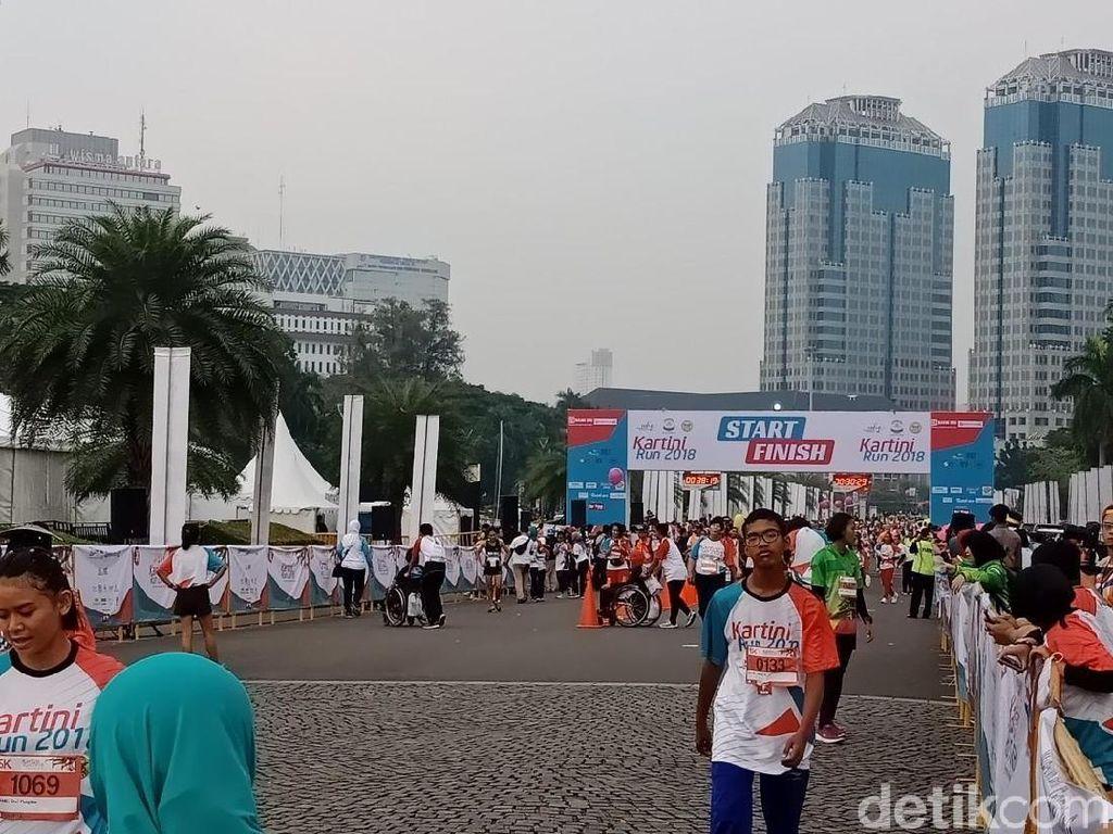 Dibuka Iriana Jokowi, Kartini Run 2018 Diikuti 7.200 Pelari