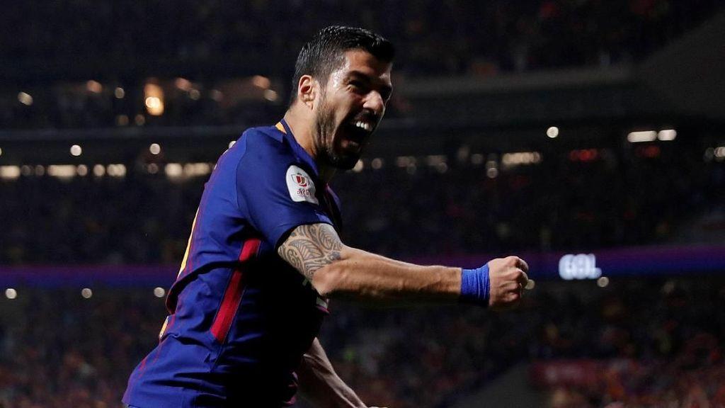 Suarez: Trofi Copa del Rey Belum Cukup Obati Luka Barca