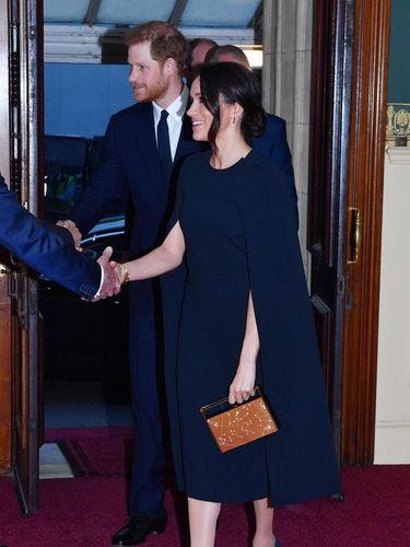 Meghan Markle dan Pangeran Harry di Perayaan Ulang tahun Ratu Elizabeth II.