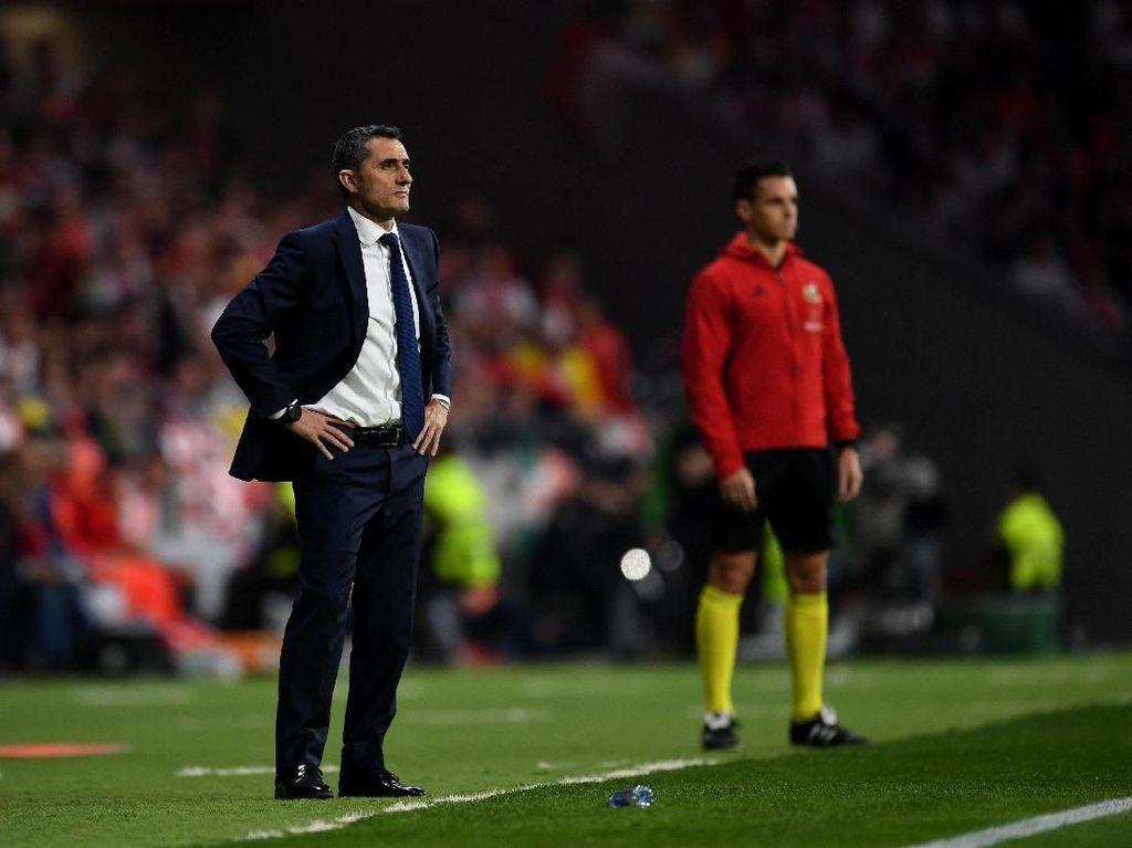 Valverde: Bukti Barca Sudah Lupakan Kekalahan dari Roma