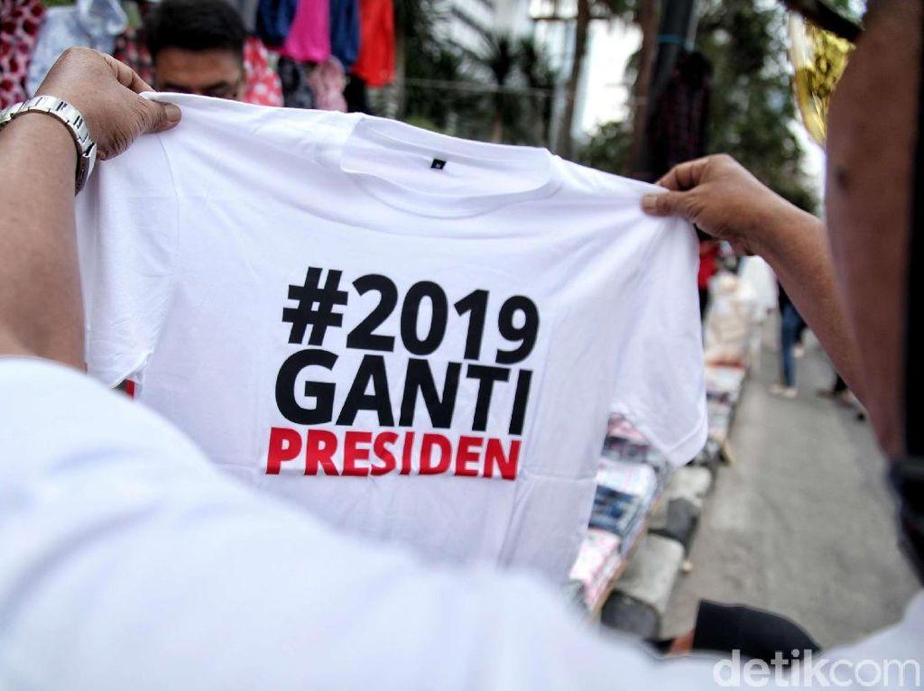 Penolakan 2019 Ganti Presiden Berlanjut