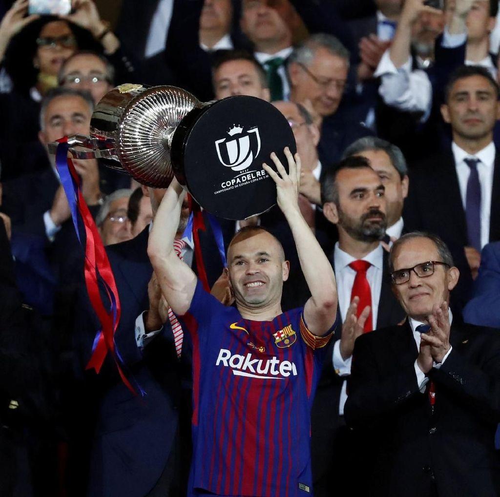 Ayah Iniesta: Waktu yang Tepat untuk Anakku Tinggalkan Barca