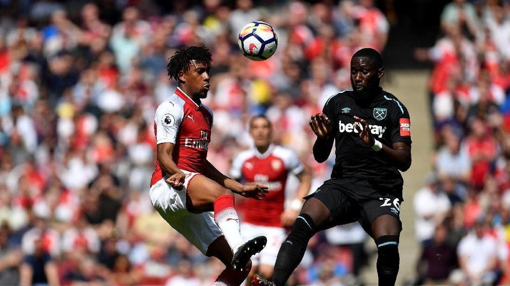 Turun Minum, Arsenal Diimbangi West Ham Tanpa Gol