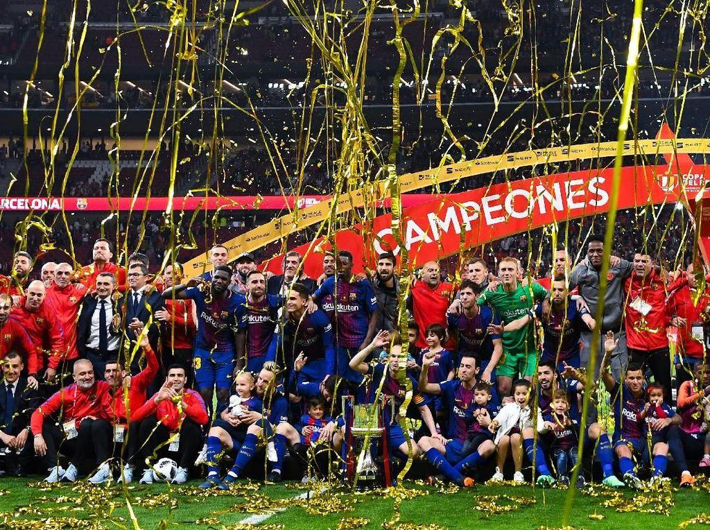 Panas Lihat Madrid Juara Liga Champions, Puyol Minta Barca Tepikan Copa del Rey