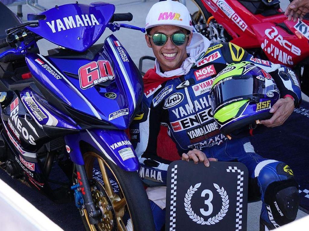 Pebalap Yamaha Ini Finis Ketiga Kelas UB150 di Australia