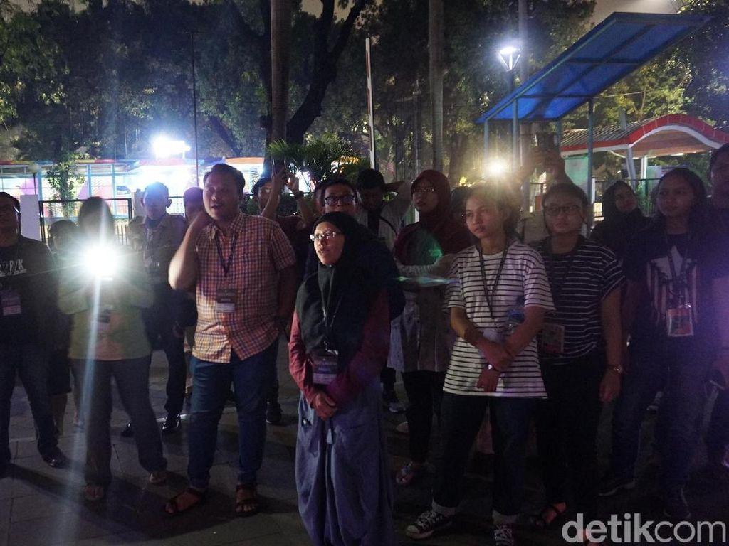 Cerita Pengunjung yang Ikut Jalan-jalan Malam di Museum Nasional