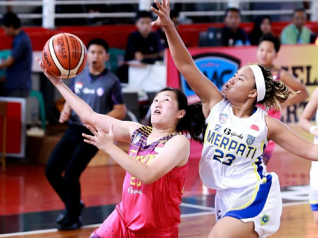 Babak Playoff Liga Basket Putri Srikandi Cup Digelar di Yogyakarta