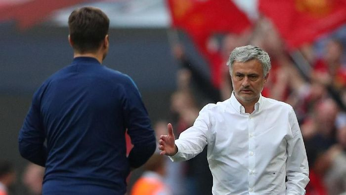 Manajer Manchester United, Jose Mourinho. (Foto: Hannah McKay/Reuters)
