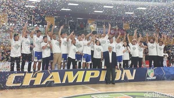 Satria Muda Juara IBL 2017/2018