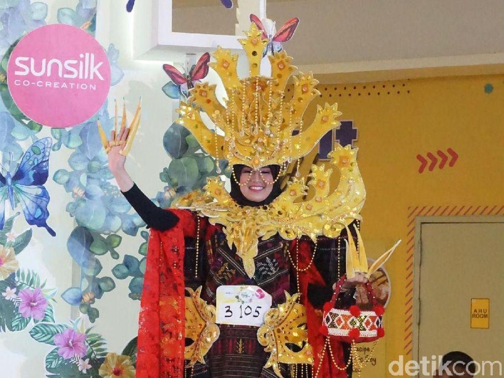 Lihat Kostum Terheboh di Sunsilk Hijab Hunt Medan