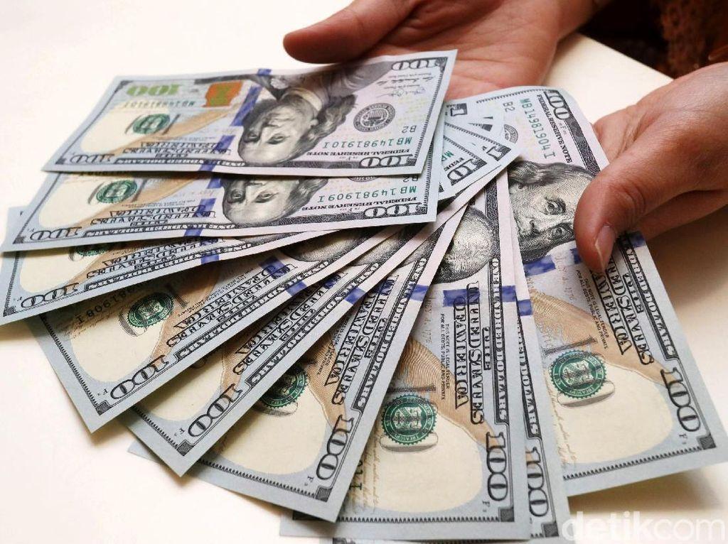 Dolar AS Loyo ke Rp 14.110