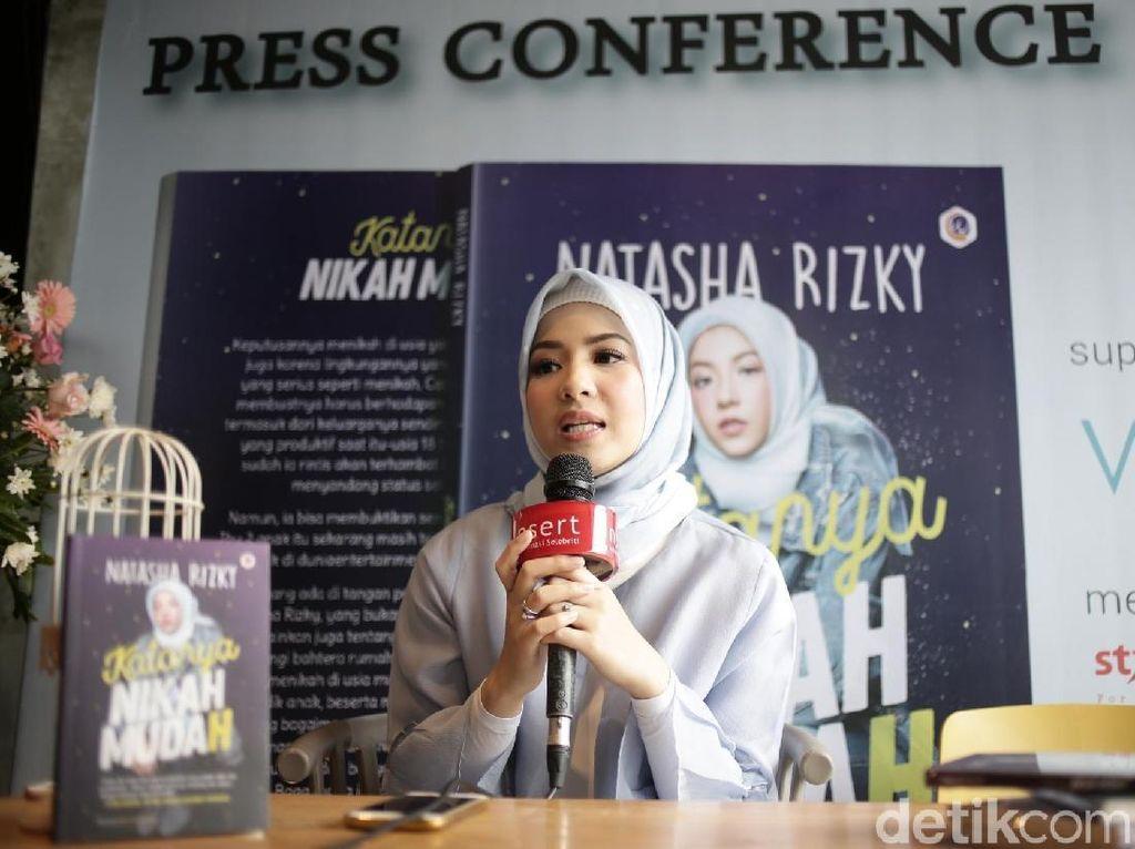 Selamat Hari Buku Sedunia! Natasha Rizki Rilis Katanya Nikah Mudah