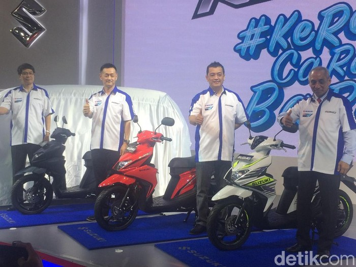 Ini Beda Fitur 5 Varian Suzuki Nex II