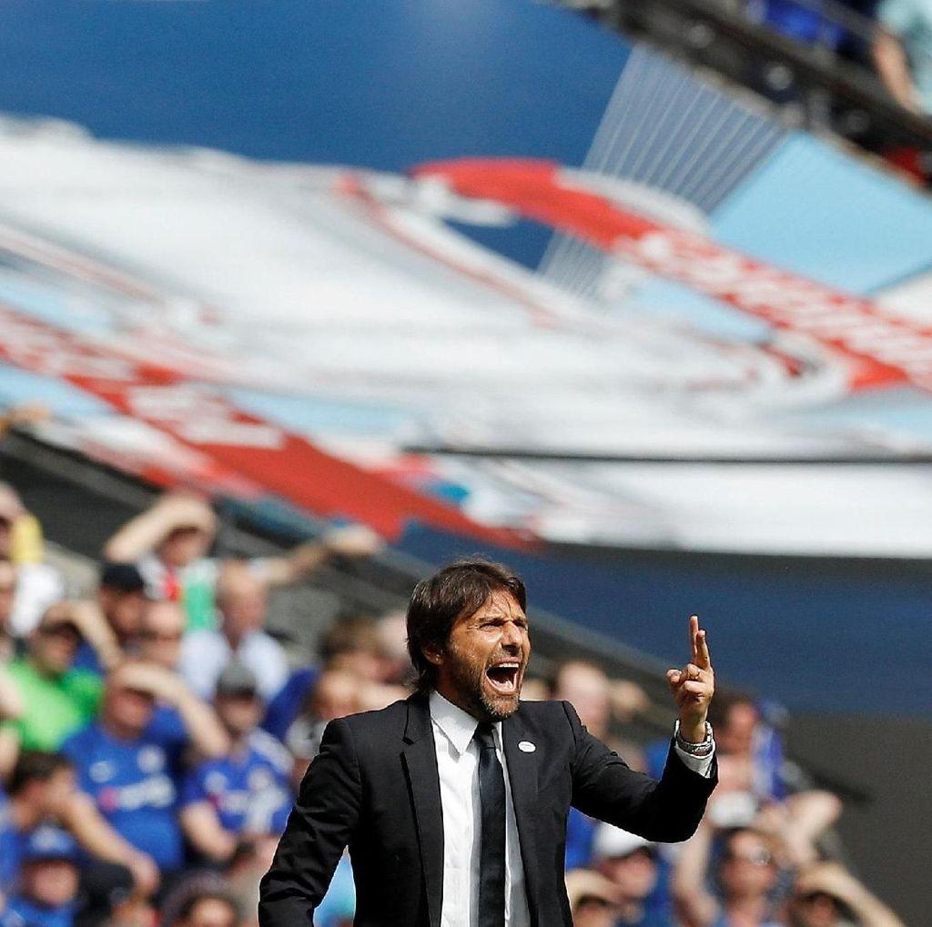 Hadapi MU di Final Piala FA, Conte: Chelsea Bukan Favorit