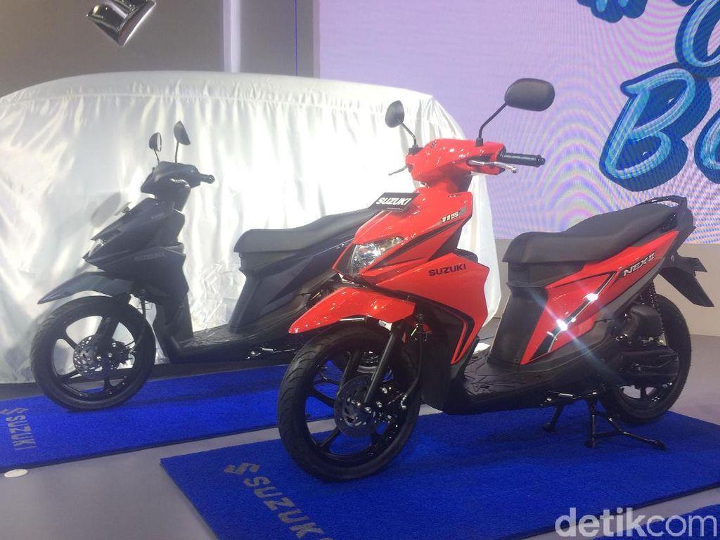 Alasan Desain Lampu Nex II Tiru Suzuki GSX1000