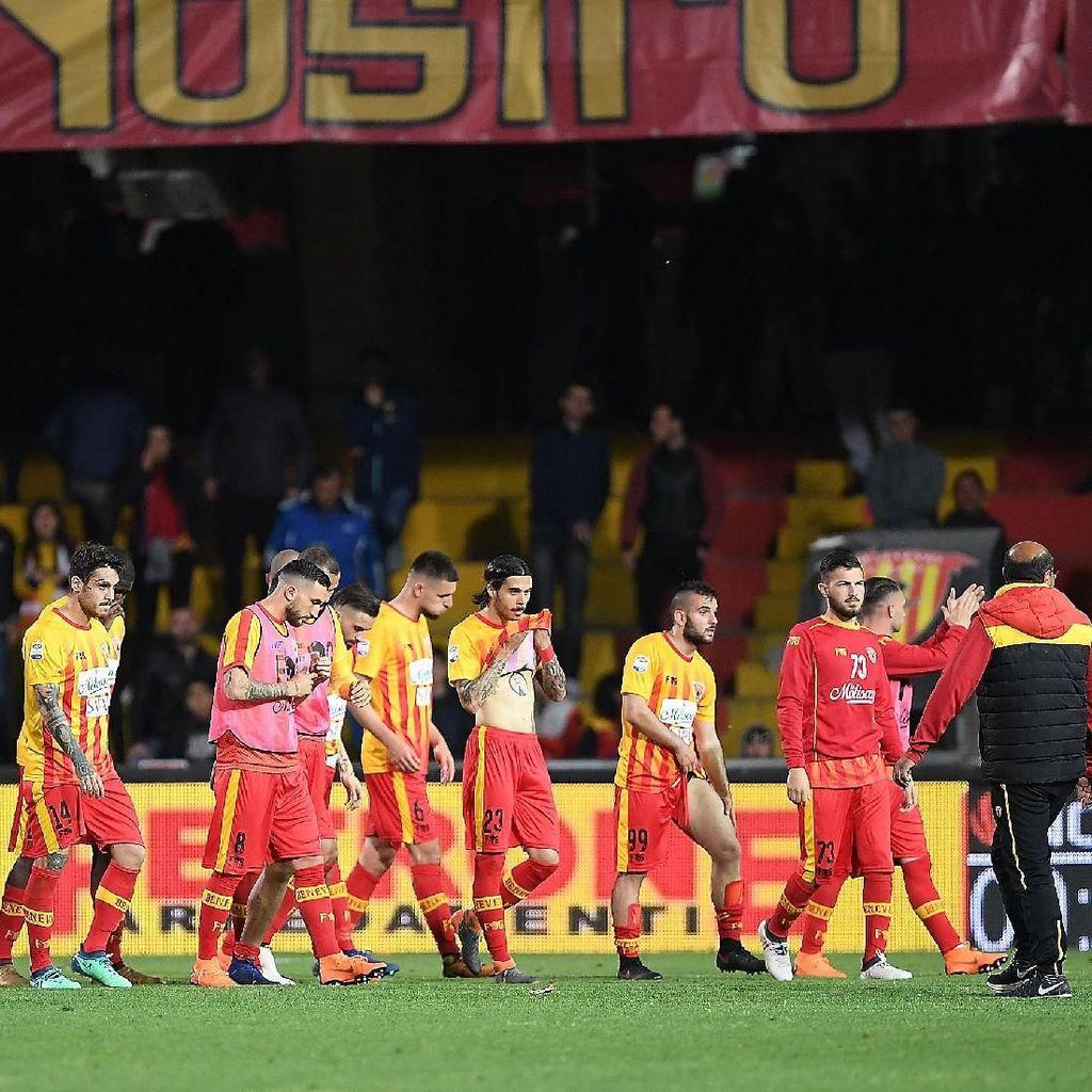 Benevento Dipastikan Degradasi ke Serie B