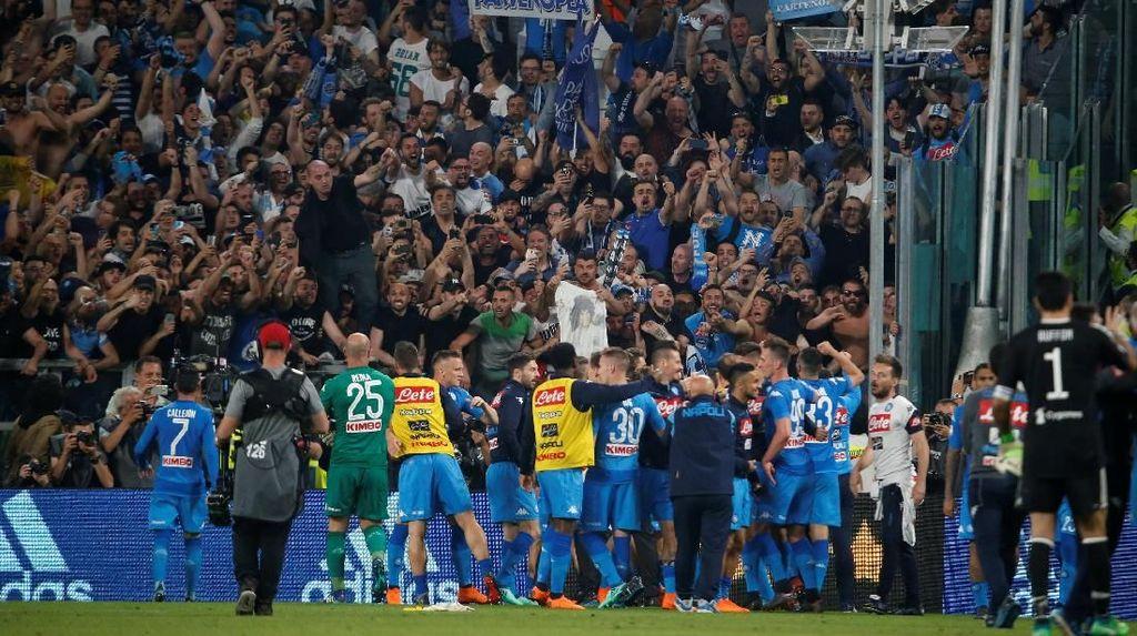 Setelah Sembilan Tahun, Napoli Menang Lagi di Markas Juve