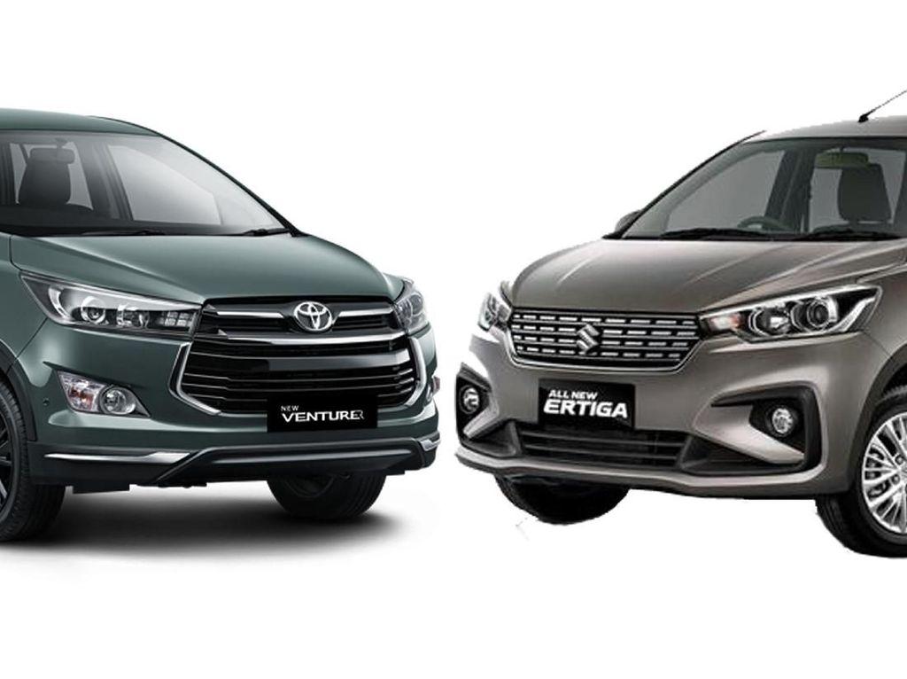 Benarkah Desain Suzuki Ertiga Terbaru Mirip Innova dan Xpander?